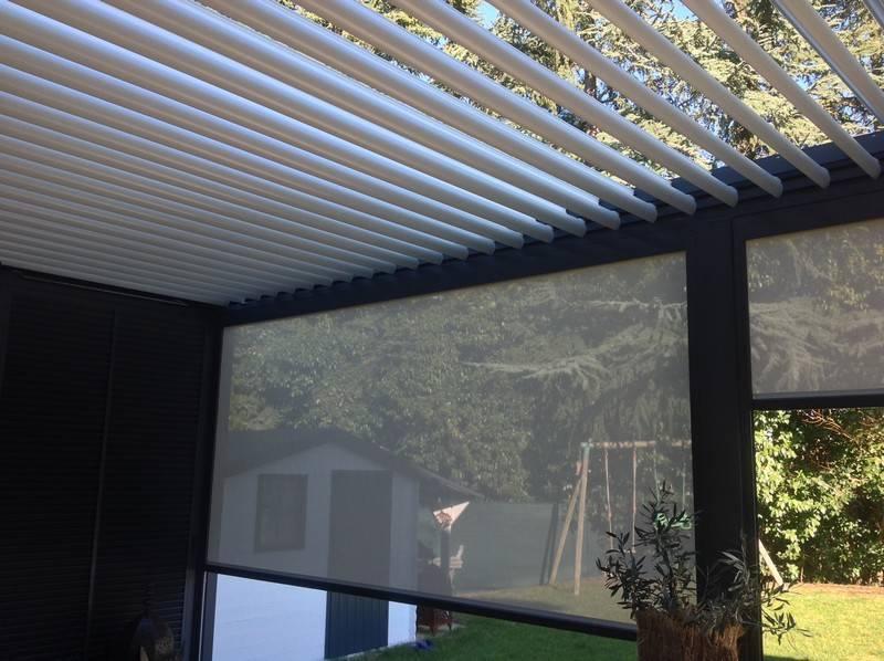 options pour pergola bioclimatique installation de pergola en alu sur mesure toulouse. Black Bedroom Furniture Sets. Home Design Ideas