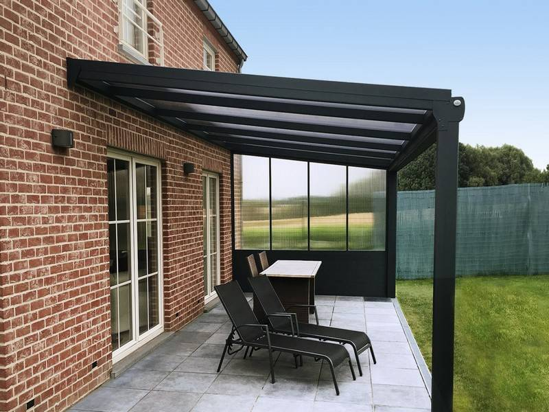 pergola aluminium orion installation de pergola en alu sur mesure toulouse stores et. Black Bedroom Furniture Sets. Home Design Ideas