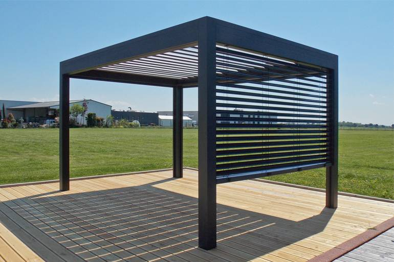 pergola aluminium open marquises installation de pergola en alu sur mesure toulouse stores. Black Bedroom Furniture Sets. Home Design Ideas